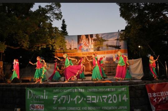 毎年恒例・横浜 山下公園のイベント:「ディワリ・イン・ヨコハマ」